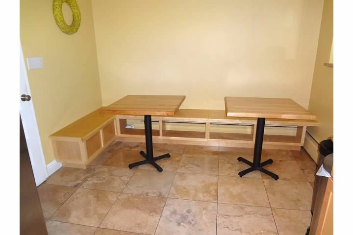 Custom Built Breakfast Nook Bench Starwood Renovation
