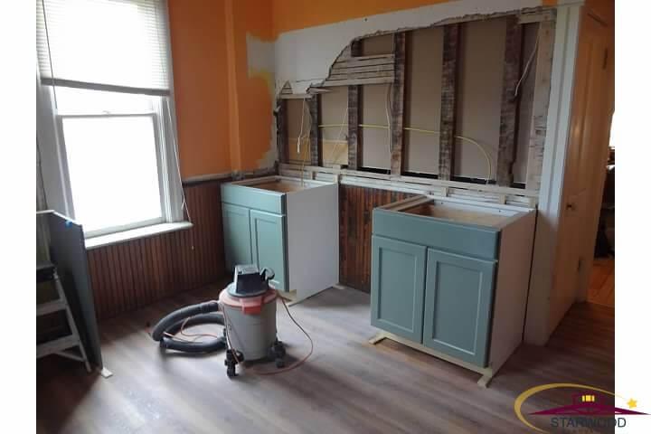 Denver kitchen remodel highlands bungalow starwood for Kitchen remodel denver
