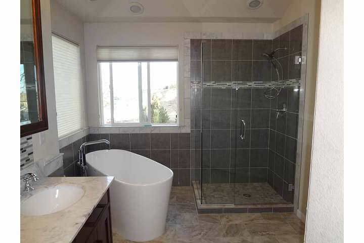 denver modern bathroom remodel starwood renovation