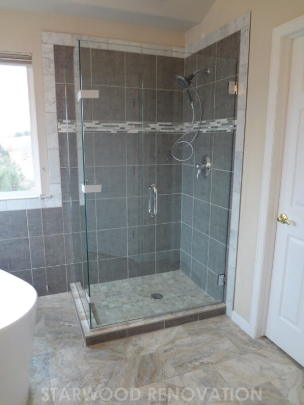 Modern Bathroom Remodel Denver Remodeling Starwood