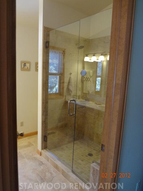 Bathroom Remodel With Custom Shower Starwood Renovation