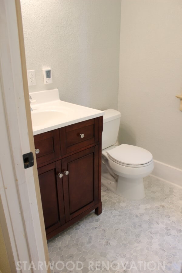 Denver small bathroom remodel starwood renovation for Small bathroom redesign