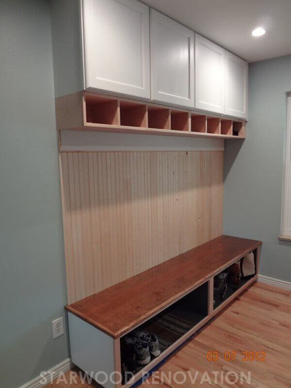 Mudroom Storage Units : Customize your home with custom woodwork denver