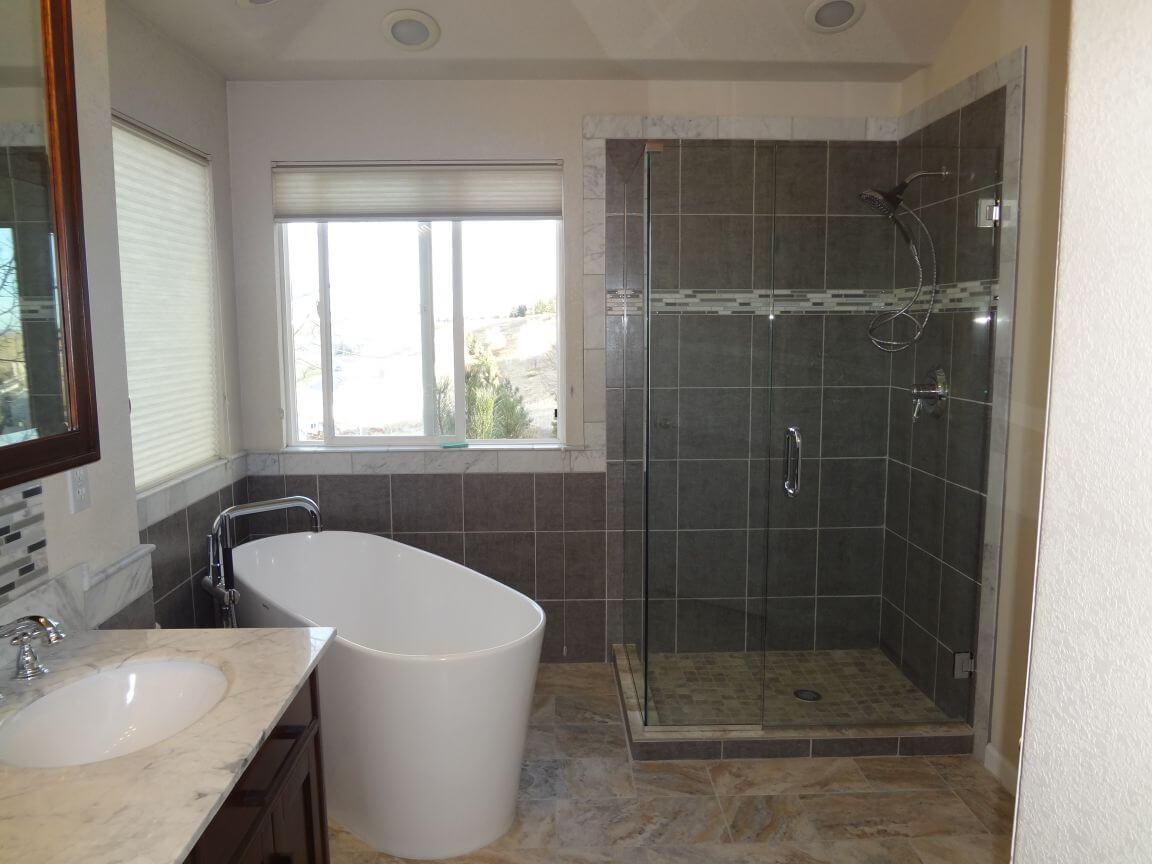 Denver Modern Bathroom Remodel